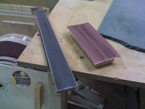 Applying the fretboard radius