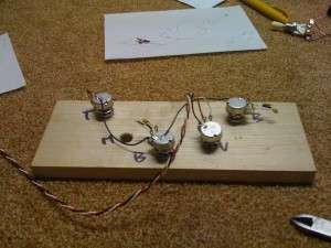 Soldering with handy tool