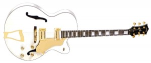 Arbor AJ144 Jazz Hollow body White